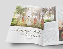 Bonnie Kate Wedding Spread