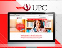 Universidad de Ciencias Aplicadas - Corporate Website