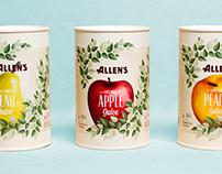 Allen's Juice Redesign