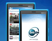 TVN24 Windows Phone App