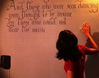 Calligraphy on my wall :)
