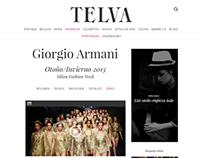 Telva's new section