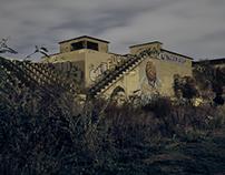 Abandoned Swim Stadium