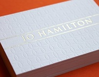 Jo Hamilton Business Cards