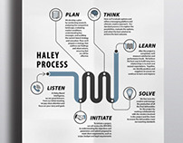 Haley Process | Infographphic