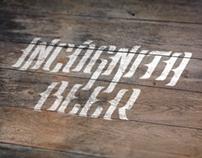 Incógnita Beer - My first beer