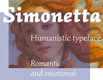 Simonetta Typeface
