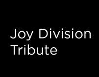 Joy Division Tribute