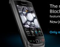 Online Advertising - Blackberry Torch