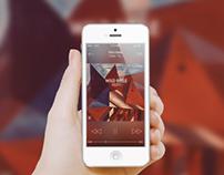 Spotify iOS 7 Concept