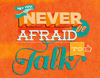"GO Freshers Week Campaign: ""Never be afraid to talk"""