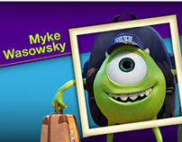 Facebook App - Monsters University