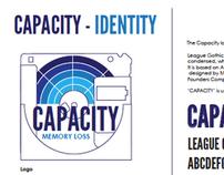Capacity - Lost Formats Exhibition Branding