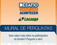 Losango - Mural de Perguntas
