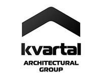 Kvartal architectural group site corporate identity