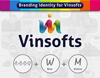 Vinsoftwares Brand Identity
