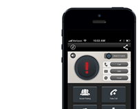 UI design for 'Safety First app'
