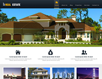 Real Estate Website Design with other projects