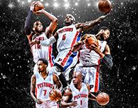 Detroit Pistons 2013/2014 Season Launch Campaign