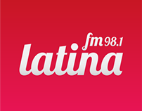 FM Latina landing page