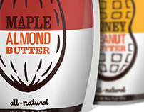 Justin's Nut Butter Packaging (Redesign)