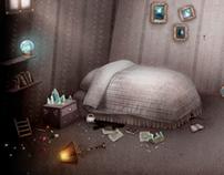 Growbot game development / Bedroom