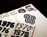 Typographyc scketch books