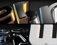 Elegant 3D Logo Intro