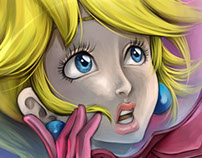 Princess Peach - Commission