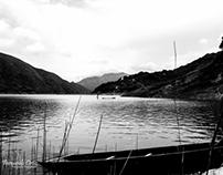 The Salvajina reservoir Colombia