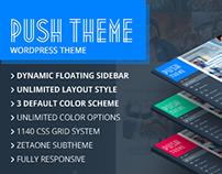 Push Multi purpose WordPress Theme