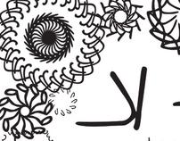 K-shapes a handwritten font