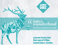 Winter Wonderland Gala Collateral