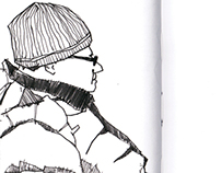 Sketchbook: Washington, DC People 4