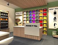 House Of Tea Retail Shop Design