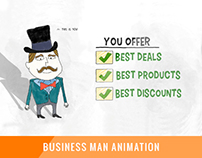 Business Man Animation
