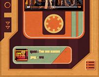 Retro Music Player UI Design