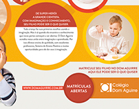Matrículas 2014 | Colégio Dom Aguirre