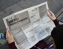 Parsons SCE Public Programs Fall 2013 Poster
