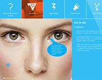 Interactive Healthcare Site Concept
