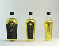 olive oil bottle concept // B&A