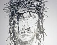 Christ / Last Temptation Of Christ portraiture