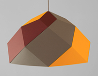 meshe design I hexas lamp