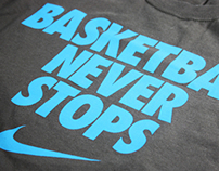 Nike Summer Slam Event Branding and Elements