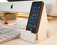 Promo desktop phone holder