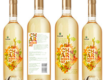 Tikves Chardonnay label