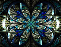 Stained Glass Fractals 2011