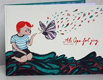 "children book ""als Opa fort ging"""