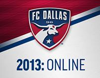 2013: FC Dallas Online Collateral