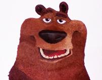Boog, el oso pardo.